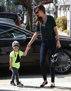 Miranda Kerr Photo - Miranda Kerr Out With Her Son