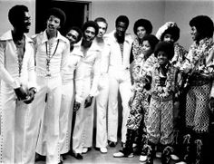 The Commodores used to open for The Jackson Five in the 70's.