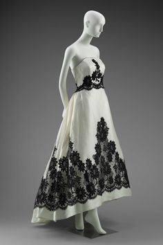Designed by Hubert de Givenchy, French, born in 1927 French Designed for House of Givenchy