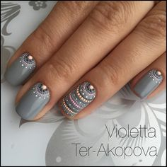 "909 Likes, 10 Comments - @violetta_ter on Instagram: "" состоится курс Paint Point ""ЭТНО"".… - #accentnails #accent #nails"
