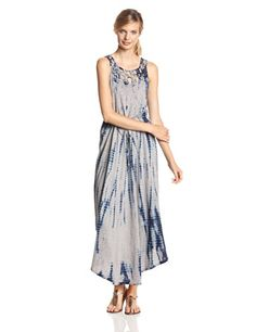 DKNY Jeans Women's Macrame Maxi Dress