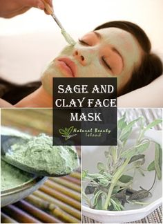 Sage and Clay Face Mask | Beauty Island