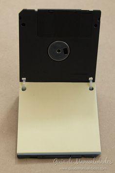 Anotador con diskettes 10