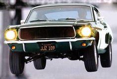 "1968 Ford Mustang ""Bullitt"" Now im free fallin free fallin!"