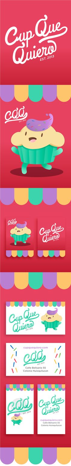 Cup Que Quiero by Yoshio Romero, via Behance