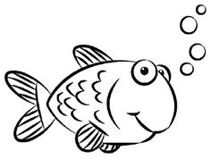 Find This Pin And More On Fish Gold Coloring Pages