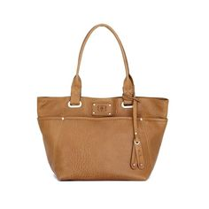 Leather tote bag | structured leather bag | Made in Italy ($835) ❤ liked on Polyvore