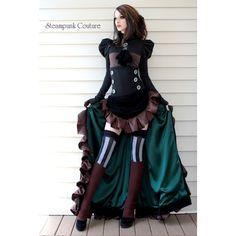 Steampunk Couture and Mori Girl Fasion