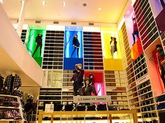 Uniqlo store...t shirts and more...amazing...