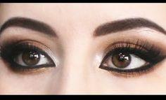 Arabic Makeup - Smokey Brown Eyes