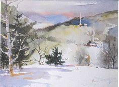 Mel Stabin...master watercolorist