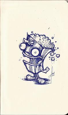 Sketchbook | illustration by Juan Rivera, via Behance