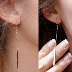 Chicnico Alloy Geometry Pendant Earring