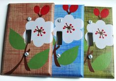 Make over your switchplates using your favorite paper and Mod Podge. This project is really easy and makes a dramatic difference!
