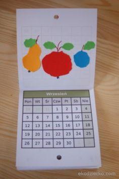 kalendarzyk do wydrukowania dzieci