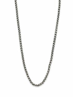 David Yurman - Sterling Silver Wheat Chain Link Necklace - Saks.com