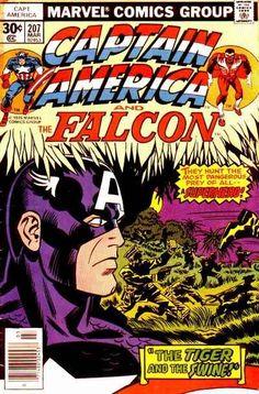 Captain America # 207 by Jack Kirby, Frank Giacoia & John Romita
