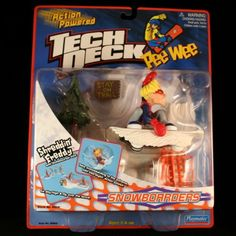 SHREDDIN FREDDY w OUTTABOUNDS TRICK Action Powered TECH DECK PeeWee Snowboarder Action Set *** Be sure to check out this awesome product.