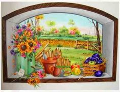 Colorful wall decorations, ideas