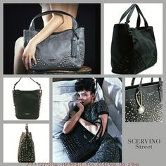 Back in black... By Scervino Street