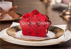 Cheap Entrega gratuita, 50 unids/lote, chino láser rojo diseño caja de caramelos, boda regalo bolsas, caramelos y cajas de regalo, Compro Calidad Artículos de Fiesta directamente de los surtidores de China:        Detalles que muestran:           -------------------------------------------------------------------