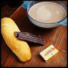 Taiźe..breakfast...miss those days...