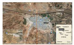 Key battlegrounds in the fight for Kobani http://on.wsj.com/1uFWN4W