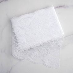 """5"""" x 10 Yards White Lace Pattern Tulle Fabric Rolls"""