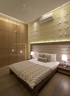 Ghansoli Residence by The BNK Group, Architect in Mumbai,Maharashtra, India Bedroom Furniture Design, Modern Bedroom Design, Master Bedroom Design, Contemporary Bedroom, Home Bedroom, Bedroom Designs India, Interior Modern, Interior Design Boards, Interior Colors