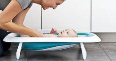Una bañera de bebé muy especial