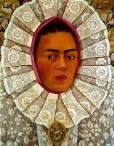 Autorretrato - Frida Kahlo e suas pinturas ~ Pintora comunista e revolucionária