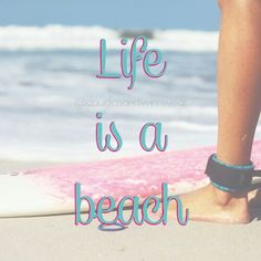 Life is where the ocean waves, the sand and the sun are. #beach #paradise #sun #tanning #sand