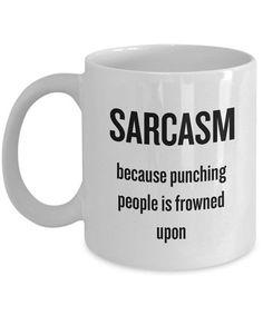 Coffee Mug Quotes, Coffee Humor, Coffee Mugs, Gag Gifts, Funny Gifts, Gifts In A Mug, Funny Coffee Cups, Funny Mugs, Sarcasm Humor