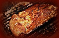 Sweet and Tangy Flavors Combine to Make this Pork Loin Recipe a Winner! The great thing about smoking a pork loin is its ability to really take on the Pork Tenderloin Recipes, Pork Roast, Braised Pork, Bbq Pork, Pulled Pork, Rib Recipes, Grilling Recipes, Weber Recipes, Grilling Tips