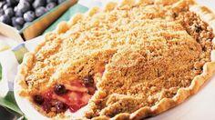 Apple-Blueberry Pie