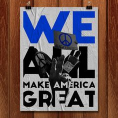 We All Make America Great by Taryn Hann for What Makes America Great.