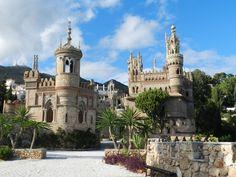 Monument Castillo Colomares, Benalmádena, Andalusien
