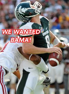 WE WANTED BAMA! Well, maybe not! #WeWantedBama #Alabama #RollTide #
