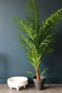 Faux Potted Areca Palm - Artificial Faux Plants - Home Accessories