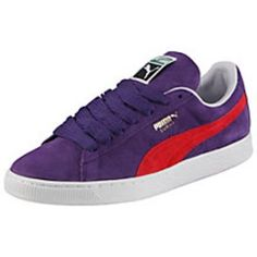 Love this colour!  Puma Suede Classic Trainers #sneakers #offduty #covetme #puma