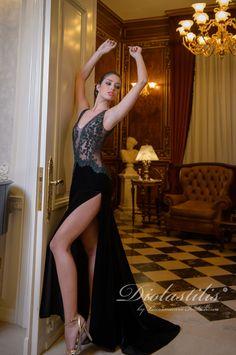 Diolastilis dress - by Lacramioara Iordachescu Prom Dresses, Formal Dresses, Diva, Stockings, Collection, Fashion, Dresses For Formal, Socks, Moda