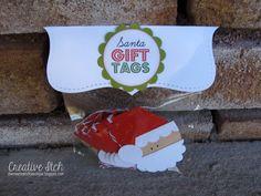 Creative Itch: {Santa Gift Tags}