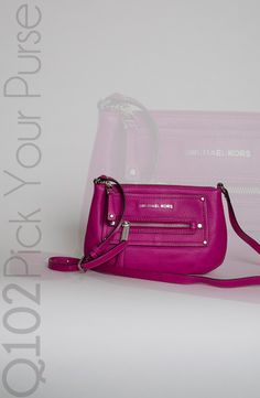 Michael Kors - Gilmore in Fuschia. Go to wkrq.com to find out how to play Q102's Pick Your Purse!
