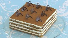 This tiramisu cake recipe is featured as the technical challenge in the Desserts episode of The Great British Baking Show airing on PBS Food.