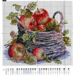 Many images on page 123 Cross Stitch, Cross Stitch Fruit, Cross Stitch Freebies, Cross Stitch Boards, Cross Stitch Kitchen, Cross Stitch Flowers, Modern Cross Stitch, Cross Stitch Designs, Cross Stitch Embroidery