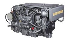 Yanmar 370-hp 8LV Diesel: Yanmar has added a solid aluminum top cover. This will please every owner with a mechanic who lies across the top of the engine when servicing. All the components are within easy reach, and CAN-Bus technology includes an electronic CAN-bus control-head, versatile multi-function color display with NMEA2000 or J1939 gauge output, and an optional second station.