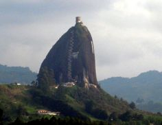 stairs! La piedra del Penol, Antioquia, Colombia