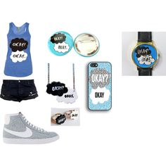 """okay? okay."" by carolina-pedro on Polyvore  #watch #the fault in our stars"