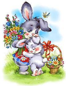artwork diamond Full Round mosaic Needlework Flower Bunny diamond diy diamond painting Home decor gift Kit Cross Stitch Ostern Wallpaper, Easter Bunny Pictures, Sweet Drawings, Easter Greeting Cards, Easter Art, Cute Clipart, Vintage Easter, Cute Cartoon, Cute Pictures