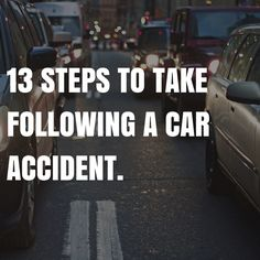13 Steps To Take Following A Car Accident. #Phoenix   #Arizona    Helpful Recommendations If You Have Been In an Auto Accident Try to remain calm.  It is okay to speak with the driver of the other vehicle.  Often, at the scene is the best place to get the truth from them...  Keep Reading: - http://www.zacharassociates.com/motor-vehicle-accidents/auto-accidents/